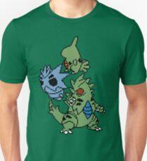 Larvitar, Pupitar and Tyranitar T-Shirt