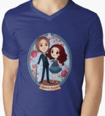 Rumbelle forever Men's V-Neck T-Shirt