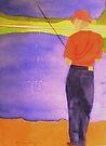 Queen's Creek Fishin' by Marriet