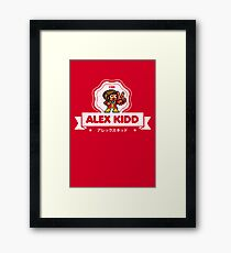 Alex Kidd Framed Print