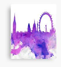 A Watchful Eye on London Canvas Print