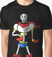 Undertale The Great Papyrus Graphic T-Shirt