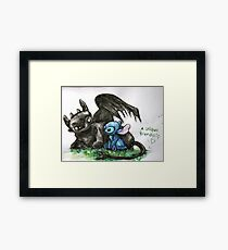 A Unique Friendship Framed Print