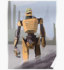 Scrapheap Skullbot. Poster