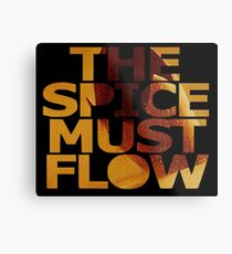 The Spice Must Flow Metal Print