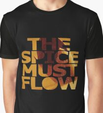 The Spice Must Flow Graphic T-Shirt