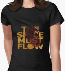 The Spice Must Flow Women's Fitted T-Shirt