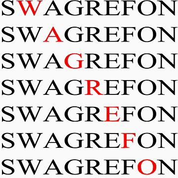 Swagrefon Shirt by mrm4466