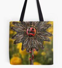 Fly Flower Tote Bag