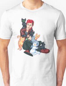 Josh Dun + Cats Unisex T-Shirt