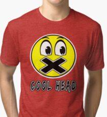Cool Head Yellow Freak Tri-blend T-Shirt