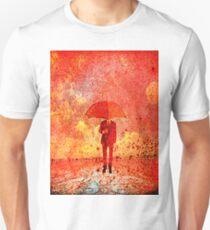 The man in the umbrella Unisex T-Shirt