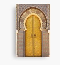 Even the doors are amazing Canvas Print