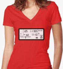 I'm a strobist Women's Fitted V-Neck T-Shirt