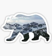 Mountain bear 2 Sticker