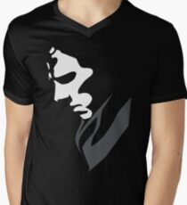 Mysterious with Cheekbones Men's V-Neck T-Shirt