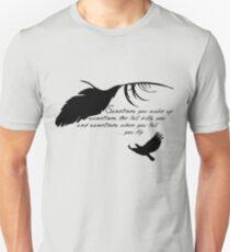 Sandman - When you fall, you fly Unisex T-Shirt