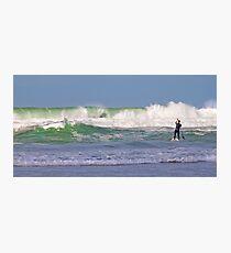 paddling Photographic Print