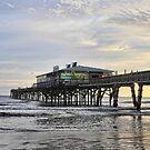 November Morning at Sun Glow Pier by Deborah  Benoit