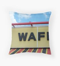 Waffle House Throw Pillow