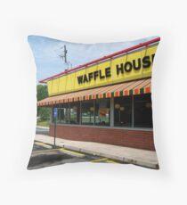 Waffle House, Atlanta, Georgia Throw Pillow