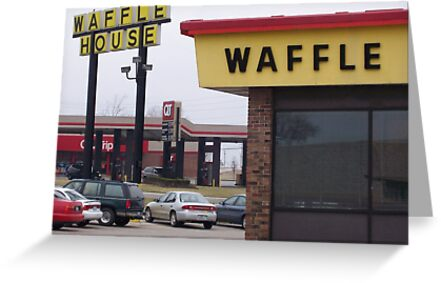 Waffle House near St. Louis by Timothy State