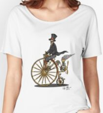 STEAMPUNK PENNY FARTHING BICYCLE Women's Relaxed Fit T-Shirt