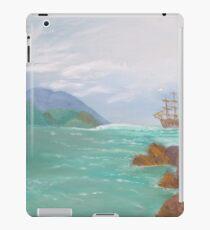 Old sailing ships. iPad Case/Skin