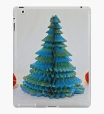 Vintage Paper Christmas Tree iPad Case/Skin