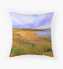 Donegal Gaeltacht Beach Throw Pillow