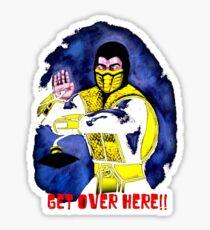 Mortal Kombat Scorpion Sticker