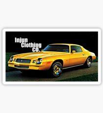GTA Style Camaro  Sticker