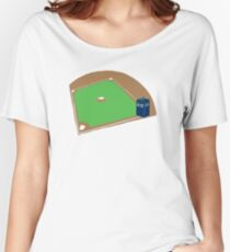 Who's on First? Women's Relaxed Fit T-Shirt
