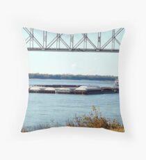 Barge(10) Throw Pillow