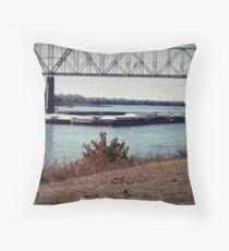 Barge (12) Throw Pillow