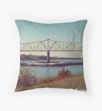 Barge (14) Throw Pillow