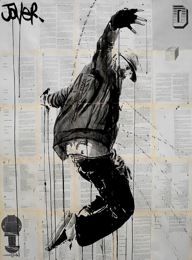 close to the edge by Loui  Jover