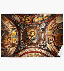 """Pantokrator in the """"Dark"""" Church Poster"""