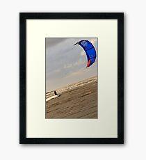 Kite Surfing - 1405 Framed Print