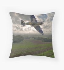 Spitfire Low Throw Pillow