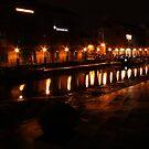 Granary Wharf by shortarcasart