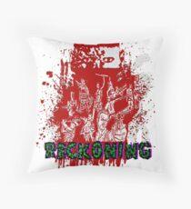 Zombie Reckoning Throw Pillow