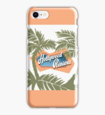 The Hollywood Riviera iPhone Case/Skin