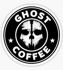 Ghost Coffee 2 Sticker