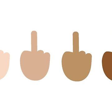 Middle Finger Emoji by popular