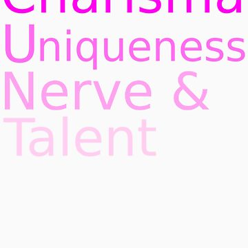 Charisma Uniqueness Nerve Talent by Pano-Designs