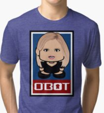 Coolter Politico'bot Toy Robot 2.0 Tri-blend T-Shirt