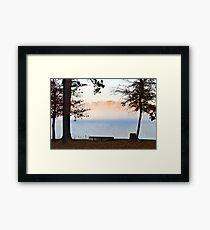 Mistical Land Framed Print
