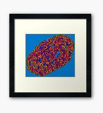 Cell Brains Framed Print