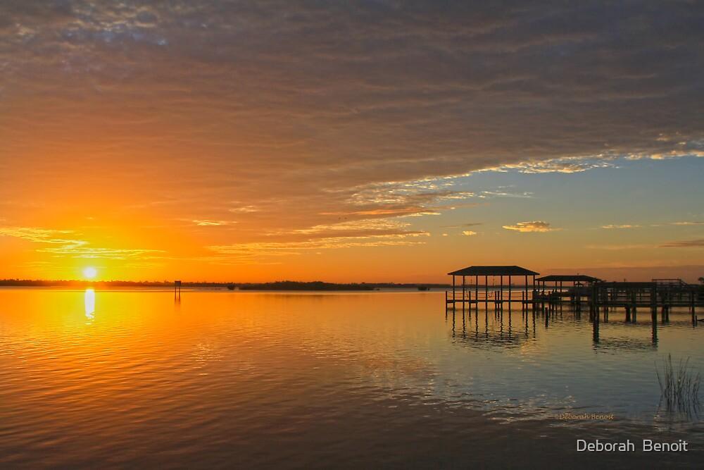Sunday Morning Glow by Deborah  Benoit